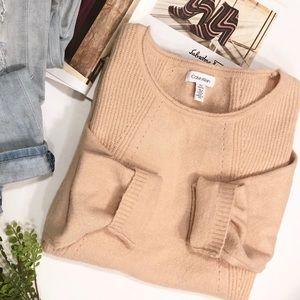Calvin Klein Blush Pink Sweater XL